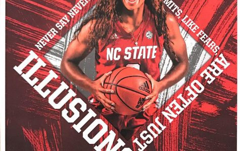 Kai Crutchfield graduated from Millbrook three years ago and has since made a name for herself on the NC State Women's basketball team. She played in this year's ACC tournament, helping the Wolfpack win their first championship since 1991.
