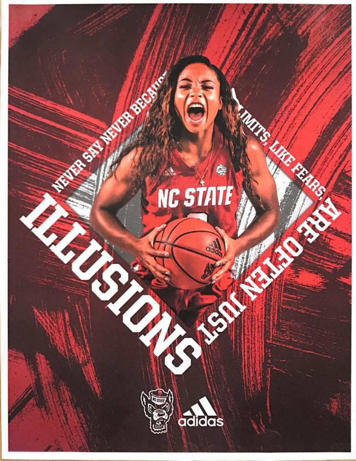 Kai+Crutchfield+graduated+from+Millbrook+three+years+ago+and+has+since+made+a+name+for+herself+on+the+NC+State+Women%E2%80%99s+basketball+team.+She+played+in+this+year%E2%80%99s+ACC+tournament%2C+helping+the+Wolfpack+win+their+first+championship+since+1991.