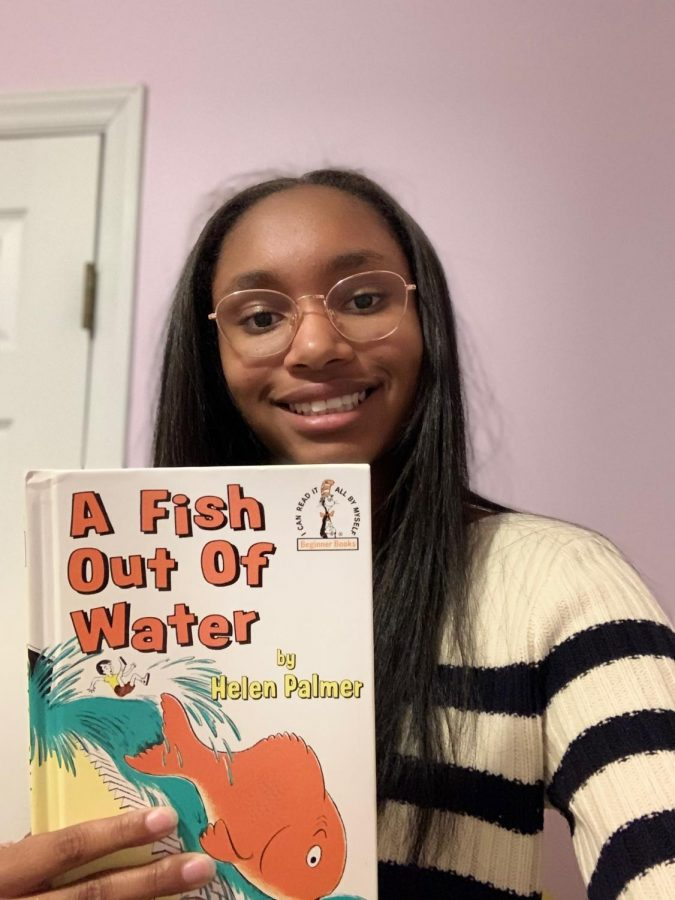 Reminiscing on the days of her early childhood, junior Gabrielle Pace credits her lifelong love of reading to none other than the works of Dr. Seuss. While she has fond memories of many works shaping her childhood, her particular favorite is A Fish Out of Water, adapted by Dr. Seuss's wife from the clippings of his unfinished works.