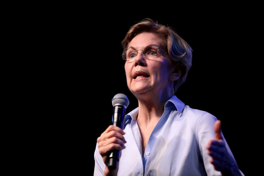 Preaching+her+policies%2C+Elizabeth+Warren+was+a+front+runner+in+the+presidential+election.+Her+recent+dropping+out+has+left+many+people+shocked+and+devastated.+%0A