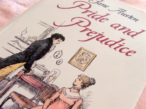 Pictured on this Pride and Prejudice cover are Mr. Darcy and Elizabeth Bennet. More than just a romance novel, the book challenges the societal norms for women at the time.