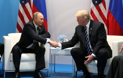 Shaking hands with Russian President Vladamir Putin, US President Donald Trump, among other world leaders attended the 2017 G-20 Hamburg Summit. The Senate Intelligence Committee, headed by NC Senator Richard Burr, unanimously agreed with the findings of the Intelligence Community from 2017: Russia did interfere with our 2016 election and favored Trump over Clinton.