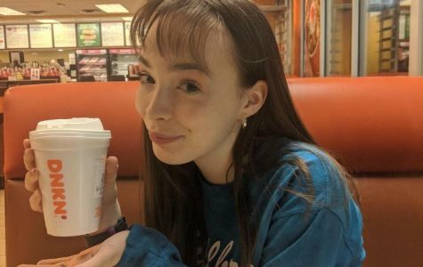 Visiting Dunkin Donuts for the first time in a while, Madison Hammond bought a cup of hot chocolate. Although she admitted that choosing Dunkin Donuts was different from her norm, Starbucks, Madison plans to visit here a lot more in the upcoming future.