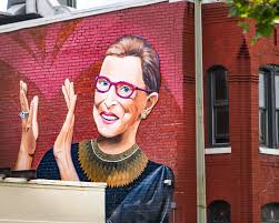 Honoring Ginsburg's twenty-seven years as a part of the US Supreme Court, a mural is proudly on display in Washington, DC. Ginsburg is a role model for women and girls everywhere, and her legacy will prevail even without her earthly presence.