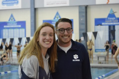 Senior athlete Alayna Carlson and her high school swim coach, Ryne Jones, are relieved to know that they will be able to compete this season per NCHSAA guidelines. However, they join other MHS athletes in being upset over the lack of normalcy.