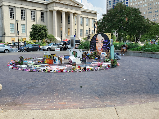 A memorial was set up by Lousiville residents in remembrance of Breonna Taylor following her death at the hands of local police. Members of the Grand Jury in the officers trial spoke out publicly about how the case was wrongly handled by Attorney General David Cameron.