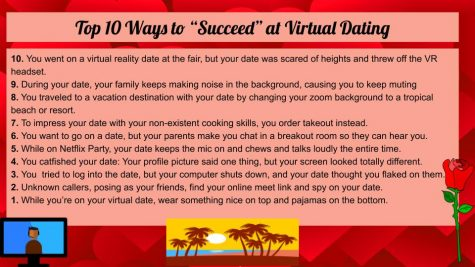 "Top 10 Ways to ""Succeed"" at Virtual Dating"