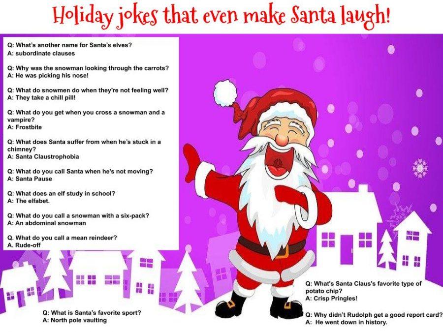 Holiday jokes that even make Santa laugh!