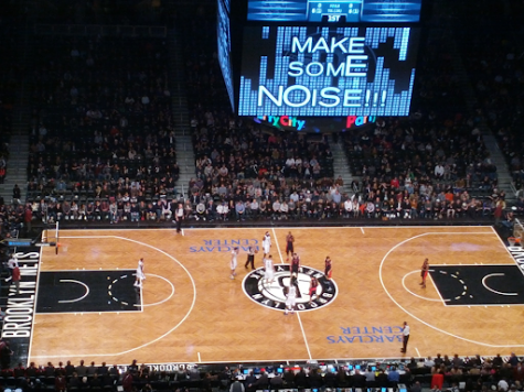 Getting set for tip-off, the Brooklyn Nets get ready to face off against the Toronto Raptors in their inaugural game. The Nets are set up for title contention this season boasting incredible offensive firepower from players like Kevin Durant and James Harden.