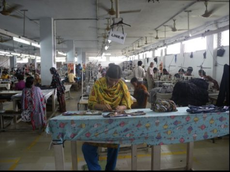 Working in a factory, this woman shows the terrible conditions in which these fast fashion companies provide for their employees. Thrift stores, hand me downs, and buying directly from a retailer are all ways you can shop sustainably.