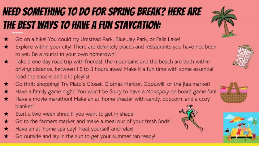 Ways to have a fun staycation!