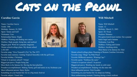 Cats on the Prowl: Caroline Garcia and Will Mitchell