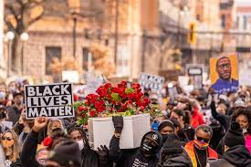 Protesting the murder of George Floyd, citizens convened on March 7. The trial took place in Minneapolis and as the trial continued for three weeks, protesters remained present and vocal.