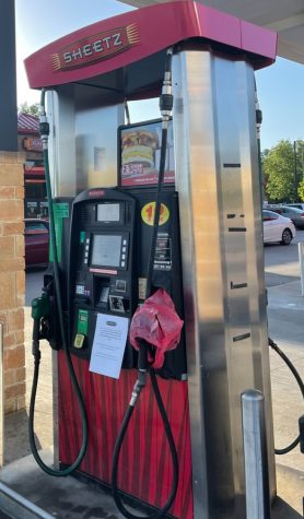 With bags covering the gas pumps at the Sheetz in Knightdale, people continue searching for an available gas station. After the cyber attack on the state's gas pipeline, there is a greater demand for gas than there is supply.