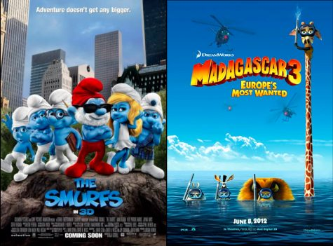 Featuring two throwback comedy movies from our youth, The Smurfs and Madagascar 3: Europe's Most Wanted are ready to give us a great laugh. Watch these movies as you are trying to ease your stress levels while preparing for your AP tests.