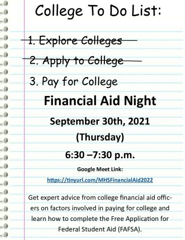 What to know about Millbrook's upcoming financial aid night