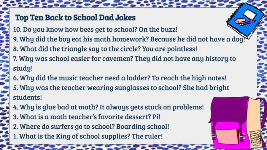 Top 10 Back to School Dad Jokes