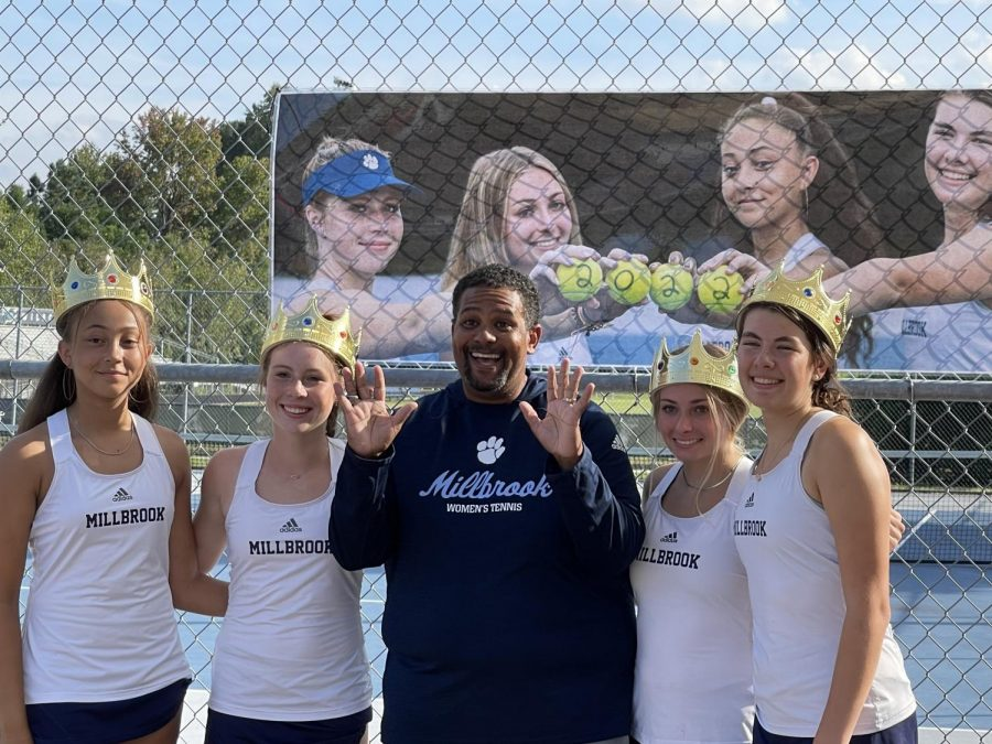 The tennis team is looking forward to a great rest of the season and is hopeful for a conference title.